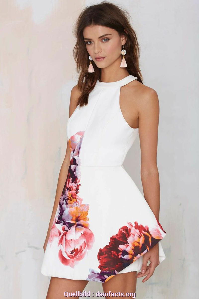 Besondere Sommerkleider Kurz 2016 Beautiful Summer Dresses With Floral Prints Are Very Much In Fashion