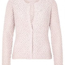 Großartig Comma Boucle Blazer Comma Kleid Rot Weiß, Comma Strickjacke Rose Quarz Damen