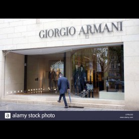 Regulär Outlet In Düsseldorf Giorgio Armani, Dusseldorf, Germany Stock Photo: 48506821 - Alamy